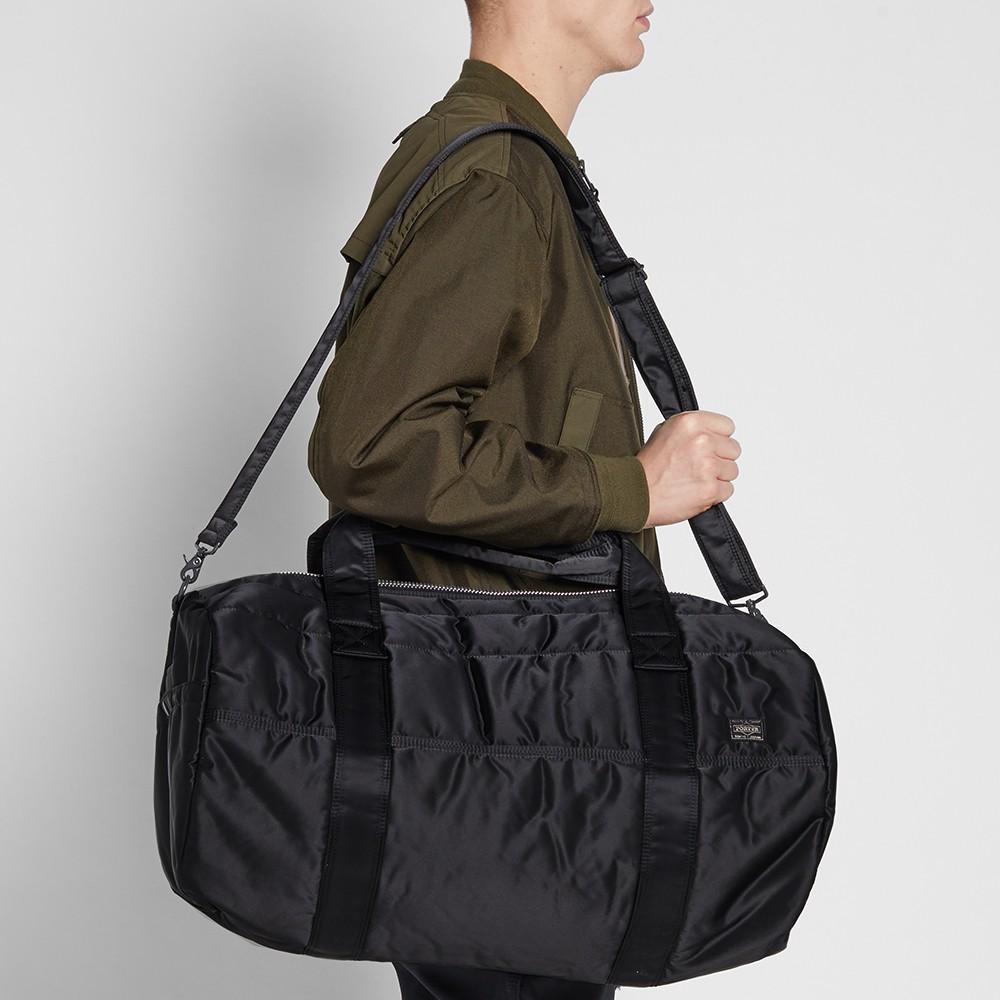48297595853c porter-yoshida   co. tanker boston bag black – €605.00. «